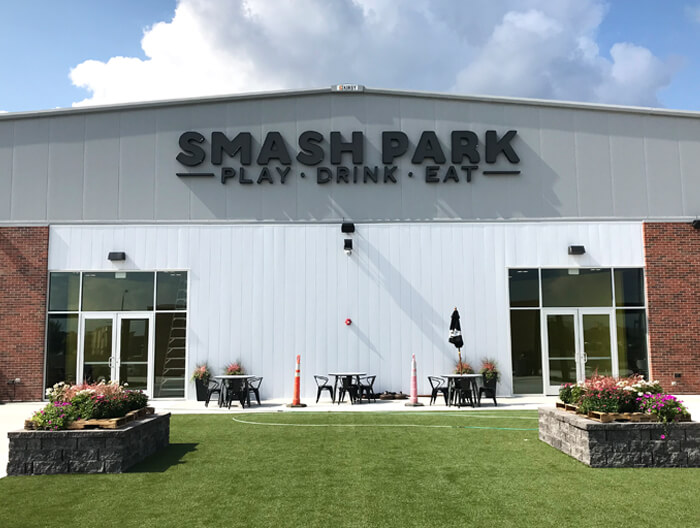 Smash Park Channel Letters