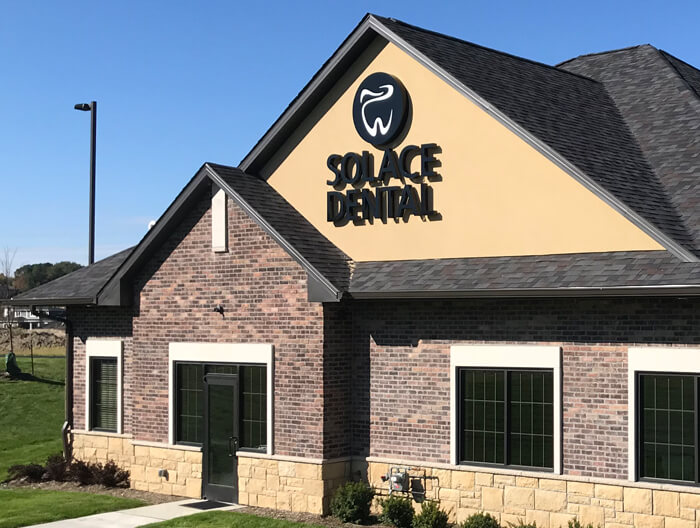 Solace Dental Channel Letters