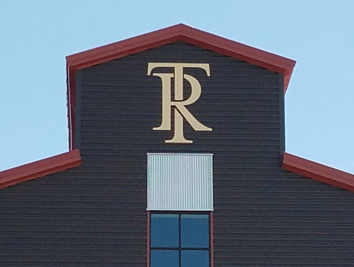 Templeton Rye Building Sign