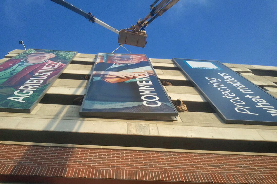 Install Nationwide Banners