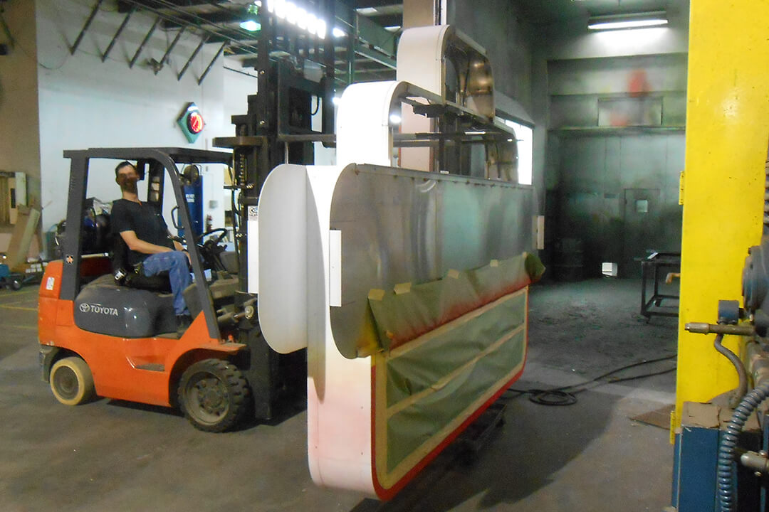 Manufacture Paint Booth