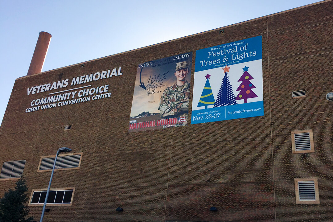 Banner Iowa Events Center Veterans Memorial