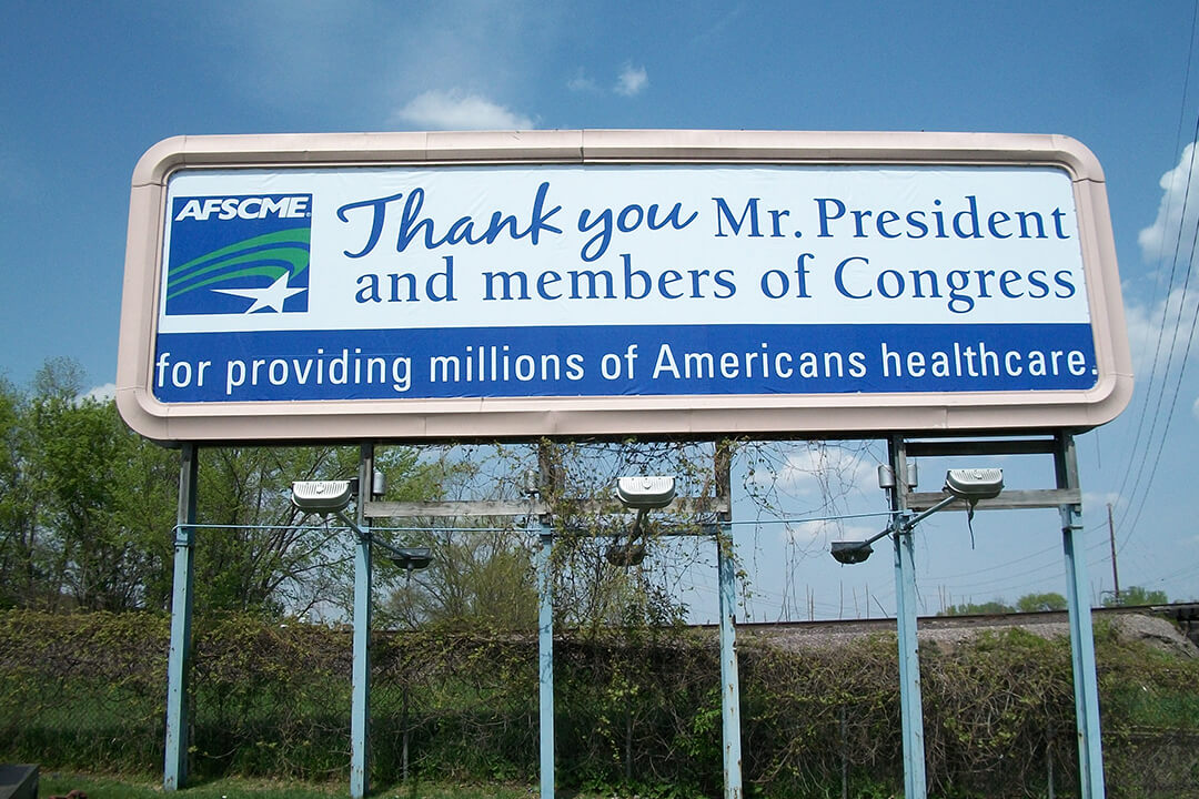 Billboard Graphics AFSCME