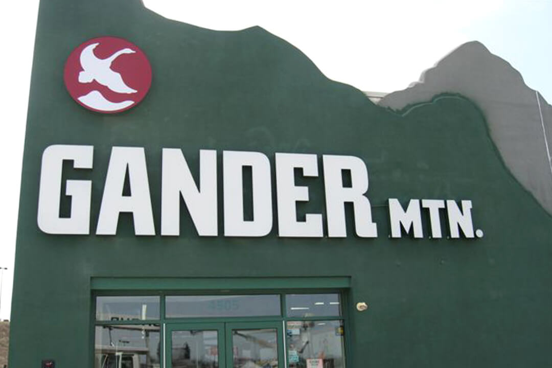 Channel Letters Gander Mountain