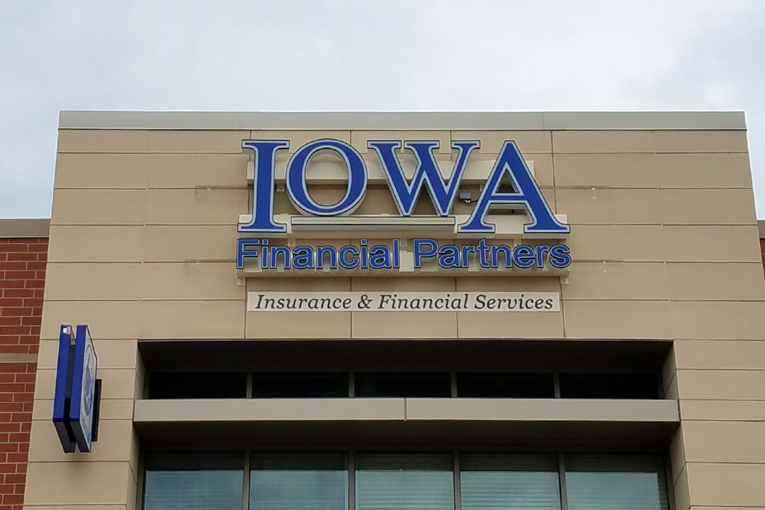 Channel Letters Iowa Financial Partners