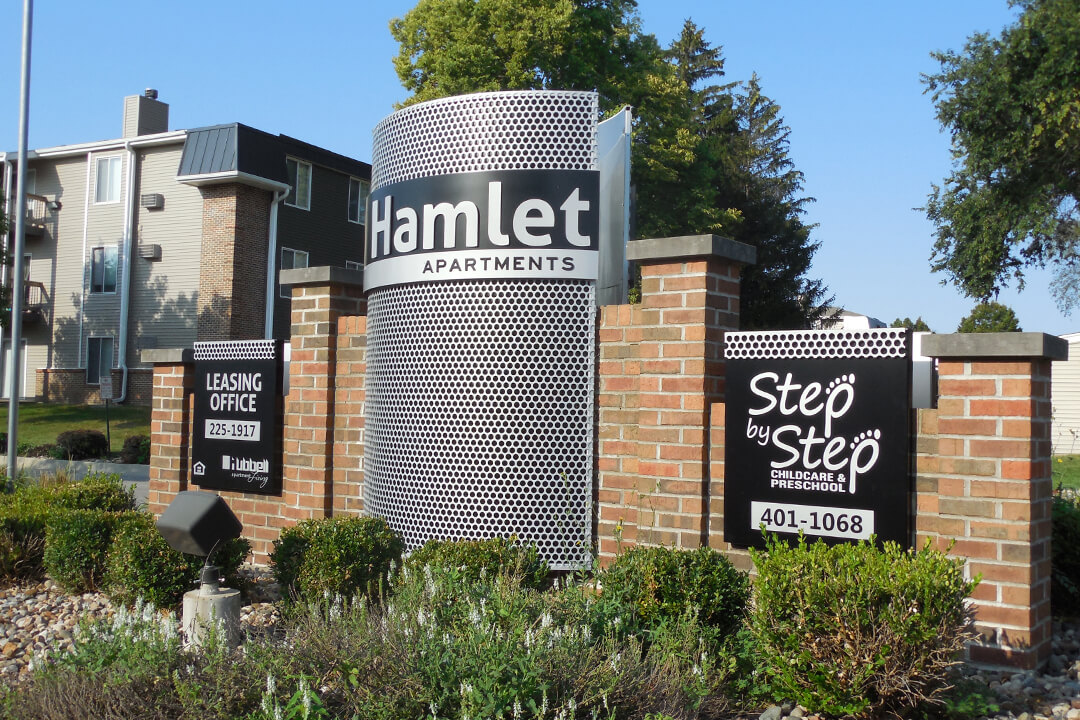 Custom Exterior Hamlet Apartments