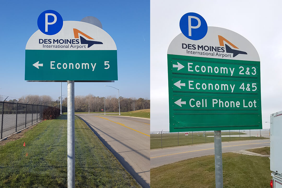 Exterior Directional DSM International Airport