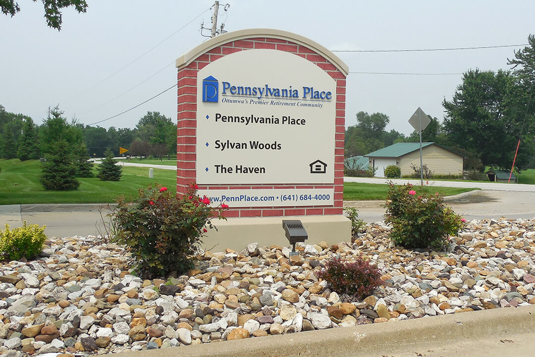 Directional Pennsylvania Place