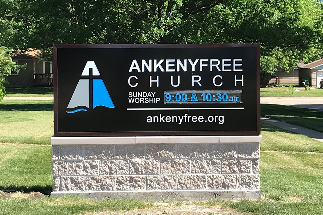 Monument Ankeny Free Church