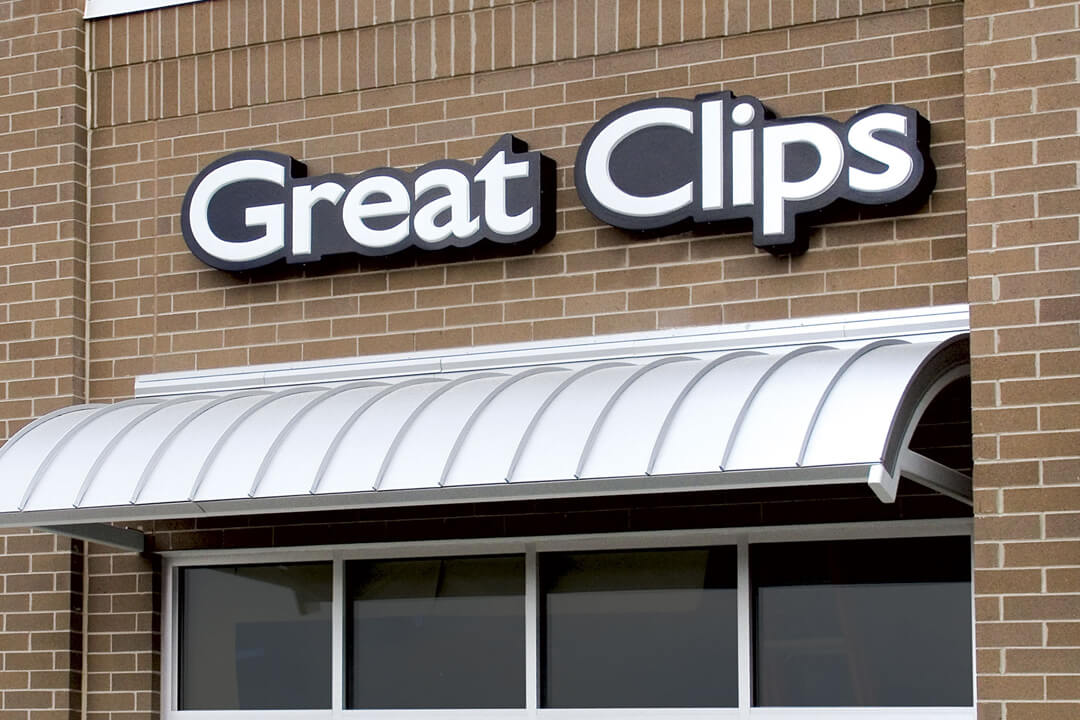 Wall Signs Great Clips