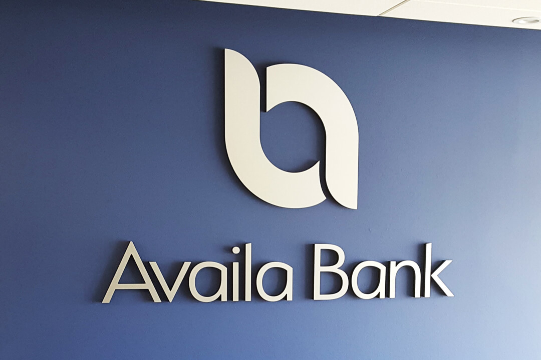 Banking/Financial Availa Bank Interior Routed Logo
