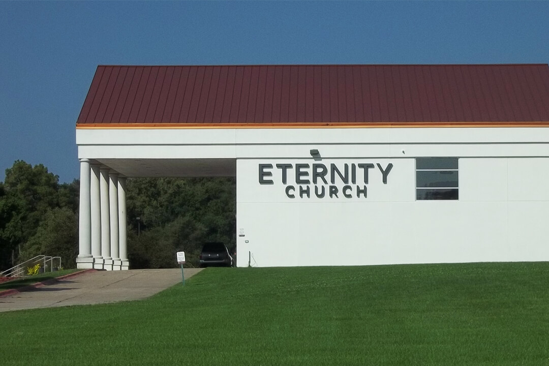 Churches Eternity Church Channel Letters