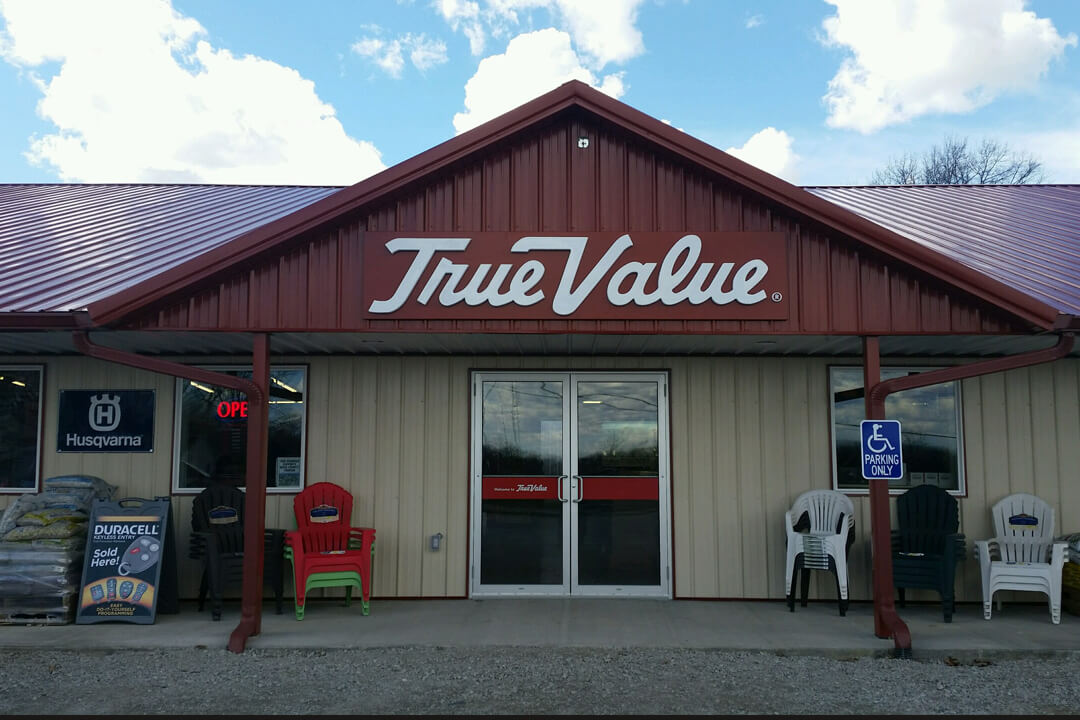 Corporate True Value Wall Sign