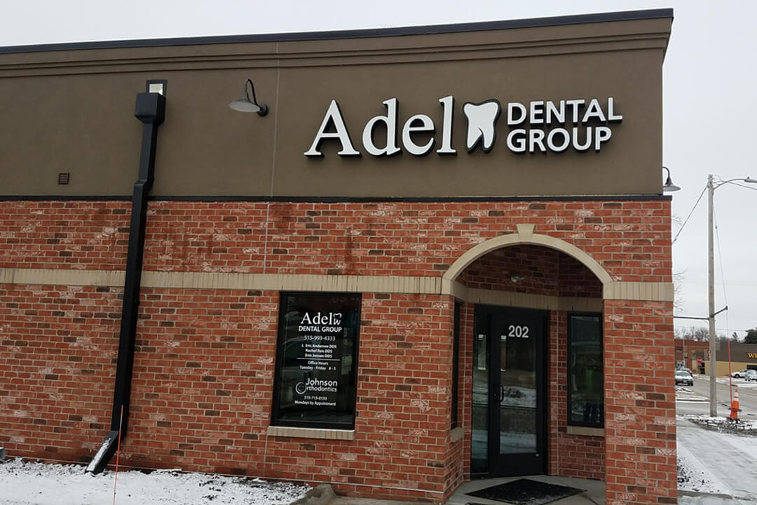 Healthcare Adel Dental Group Channel Letters