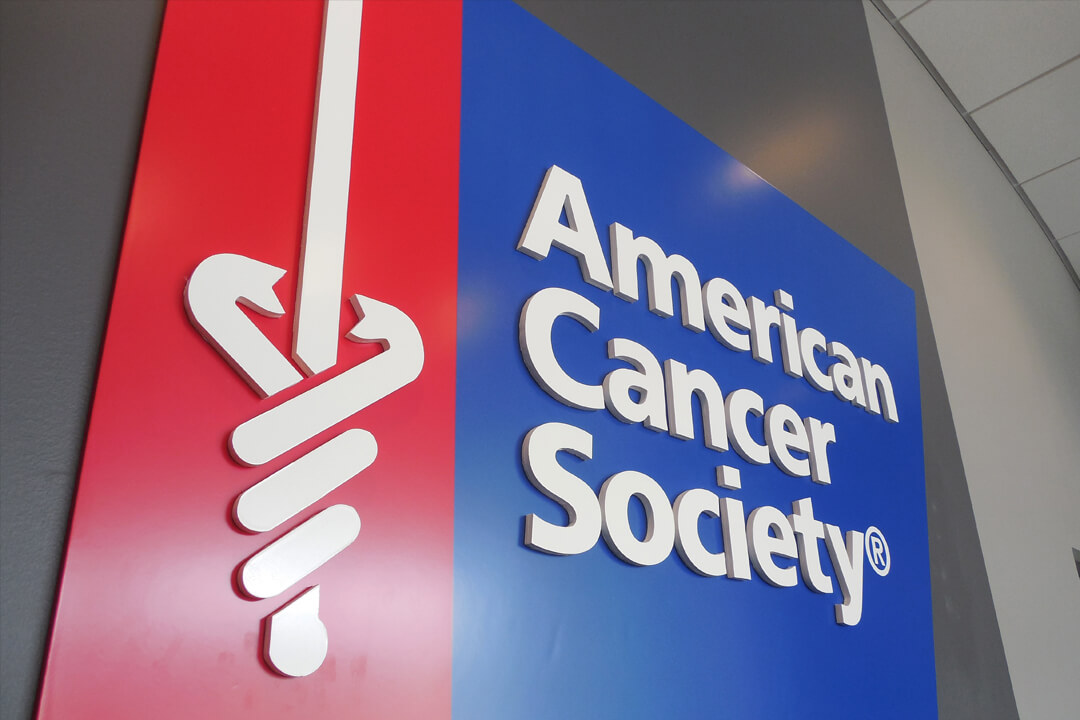 Healthcare American Cancer Society Interior Routed